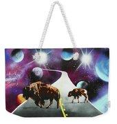 Where The Space Buffalo Roam II Weekender Tote Bag