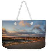 Where The Years Behind Are Piled Up High Weekender Tote Bag