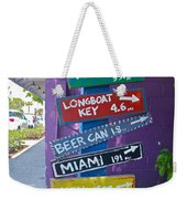 Where To Go?  Where To Go? Weekender Tote Bag