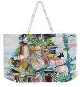 Where We Are King And Queen Weekender Tote Bag