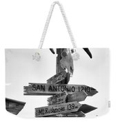Which Way? Weekender Tote Bag