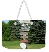 Which Way Do I Go  Weekender Tote Bag