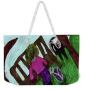 While Riding My Pony I Noticed A Butterfly Weekender Tote Bag