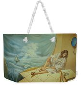 While The Master Is Sleeping Weekender Tote Bag