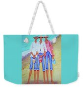 Whimsical Beach Women - The Treasure Hunters Weekender Tote Bag