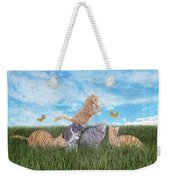 Whimsical Cats Weekender Tote Bag