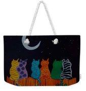 Whimsical Cats Weekender Tote Bag