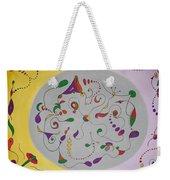 Whimsical Circle Weekender Tote Bag