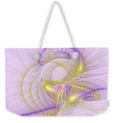Whimsical In Purple Weekender Tote Bag