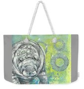 Whimsical Manatee Weekender Tote Bag