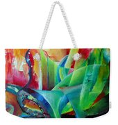 Whimsical Mood-landscape And Fields Weekender Tote Bag
