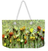 Whimsical Poppies On The Wall Weekender Tote Bag