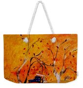 Whimsical Wind Weekender Tote Bag