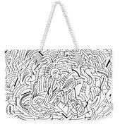 Whirl Weekender Tote Bag