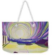 Whirling Sunrise - La Rocque Weekender Tote Bag by Derek Crow
