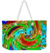 Whirlwind - Abstract Art Weekender Tote Bag