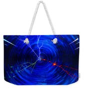 Whirlwind Of History. When Time Machine Is In Action Weekender Tote Bag