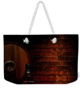 Whiskey Fancy Weekender Tote Bag by Lourry Legarde