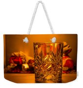 Whiskey In A Glass Weekender Tote Bag
