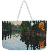 Whiskey Jack Bay Weekender Tote Bag by Phil Chadwick