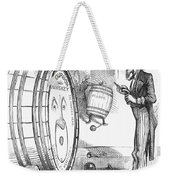 Whiskey Ring Cartoon, 1876 Weekender Tote Bag