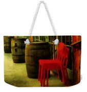 Whiskey Row Weekender Tote Bag