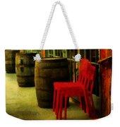 Whiskey Row Weekender Tote Bag