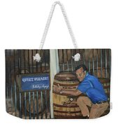Whiskey Sleeping Weekender Tote Bag