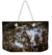 Whisp Of Winter Weekender Tote Bag