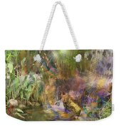 Whispering Waters Weekender Tote Bag