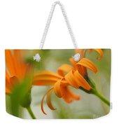 Whispers Of Orange Symphony Weekender Tote Bag