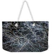 Whispers Of Winter Weekender Tote Bag