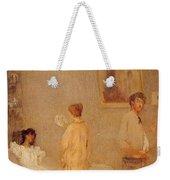 Whistler In His Studio James Abbott Mcneill Whistler Weekender Tote Bag