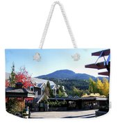 Whistler Mountain Weekender Tote Bag