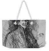 Whistler, Self-portrait.  Weekender Tote Bag