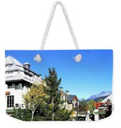 Whistler Village Weekender Tote Bag