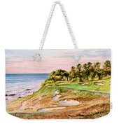 Whistling Straits Golf Course 17th Hole Weekender Tote Bag by Bill Holkham