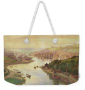 Whitby From Larpool Weekender Tote Bag