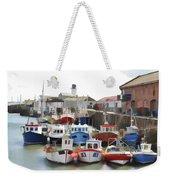 Whitby Harbour Weekender Tote Bag