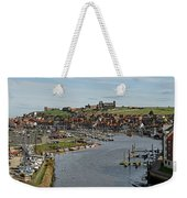 Whitby Marina And The River Esk Weekender Tote Bag