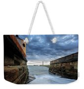 Whitby Morning Tide 2 Weekender Tote Bag