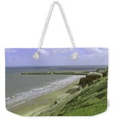 Whitby Piers Weekender Tote Bag