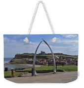 Whitby Whale Bone Arch  Weekender Tote Bag