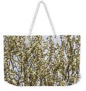 White And Fluffy Blooms. Weekender Tote Bag