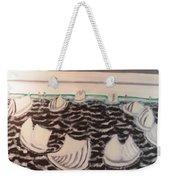 White And Grey Sailing Boats Weekender Tote Bag