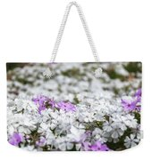White And Pink Flowers At Botanic Garden In Blue Mountains Weekender Tote Bag