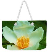 White And Yellow Flower Weekender Tote Bag