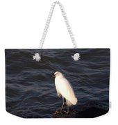 White As Snow Weekender Tote Bag