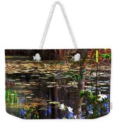 White Azaleas In The Swamp Weekender Tote Bag