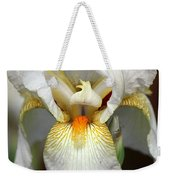 White Bearded Iris 2 Weekender Tote Bag